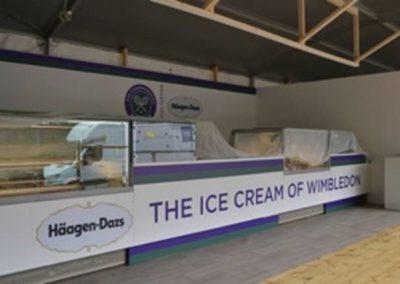 Häagen-Dazs at Wimbledon