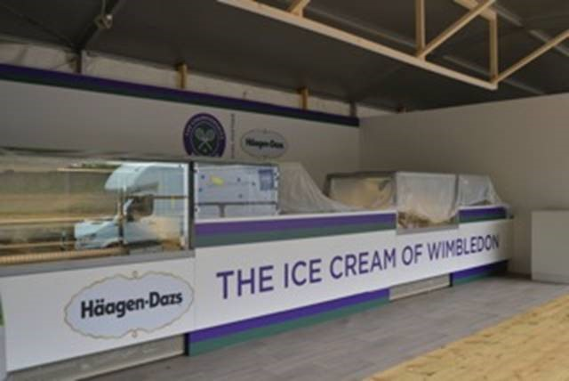Häagen-Dazs at Wimbledon