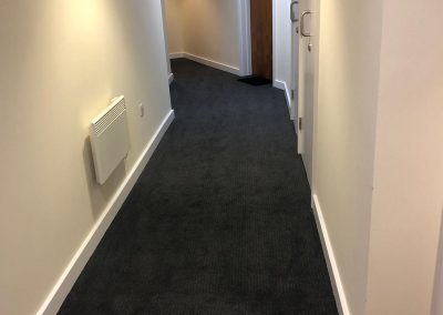 Vizion 7, Hornsey Street, London N7 – Carpet replacement to common parts & gymnasium
